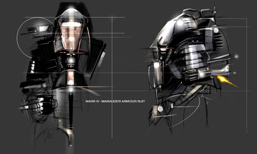 Marauder Armour Suit (Mark IV Version)